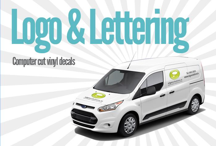 Logo & Lettering - Computer Cut Vinyl Text & Logo