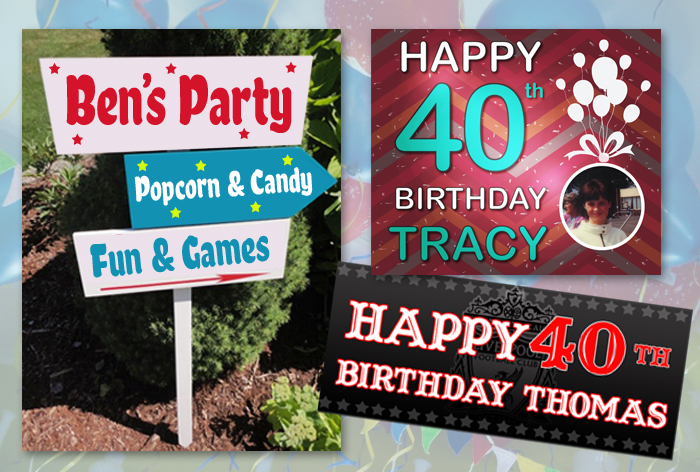 signs and banners for birthdays and special occassions sign solutions